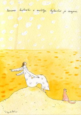 AM131/127 Rausvas katinėlis ir aukštyn kylančios jo svajonės
