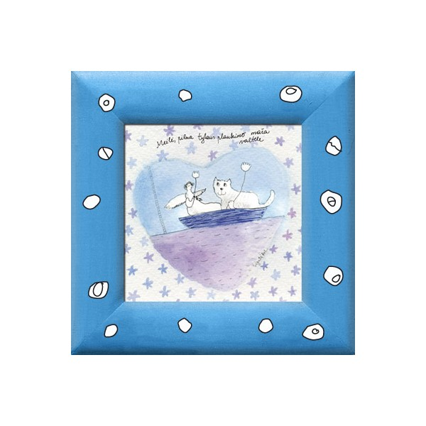 AK95D/196 Meilė, pilna tylaus plaukimo maža valtele