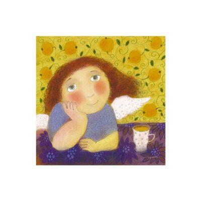 Svajojantis angelas ir vakaro arbata