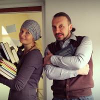 With Arvydas Vereckis