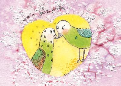 AM121/387 Meilė ir žydintis pavasaris