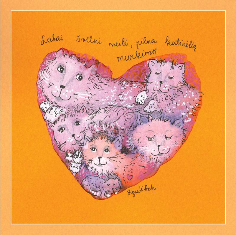 Labai švelni meilė, pilna katinėlių murkimo