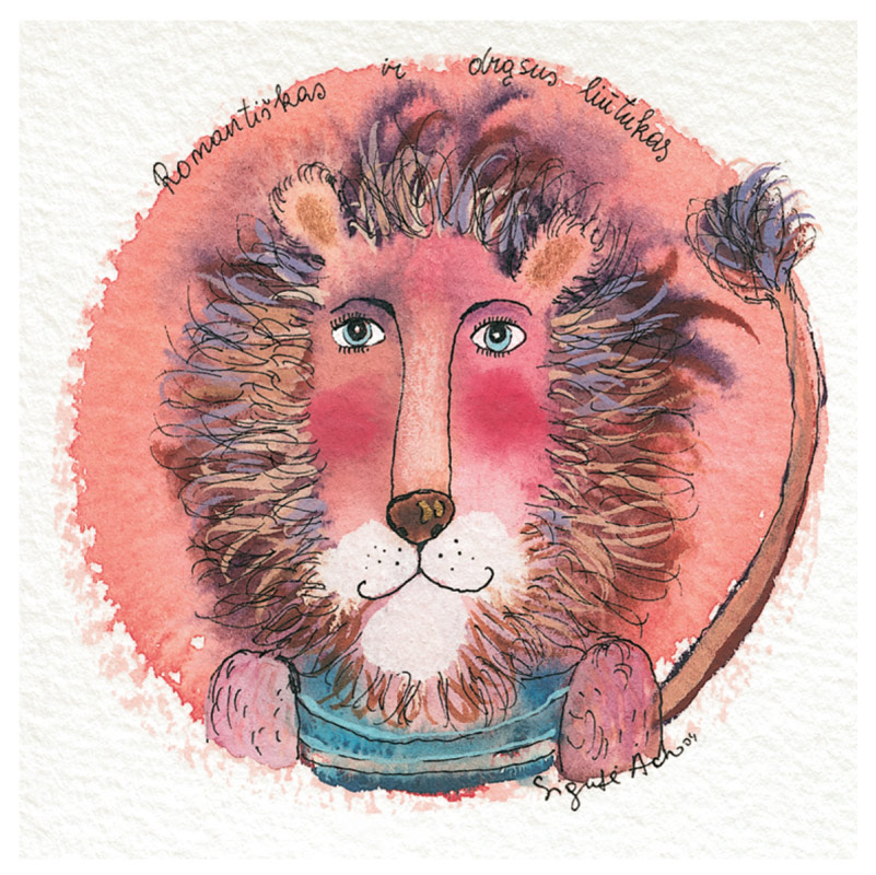 Romantiškas ir drąsus liūtukas