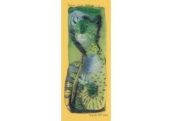 Žalias ežero katinas ir jo šviesios širdies paukštelis