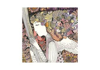 M55. Gėlių mergaitė
