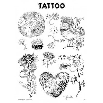 T26. Laikinos tatuiruotės