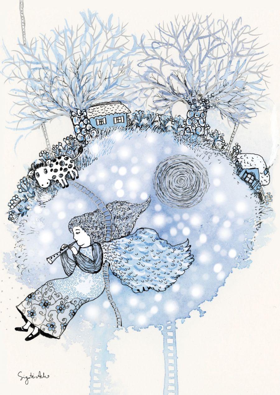 AM 322/394 Kalėdinis atvirukas